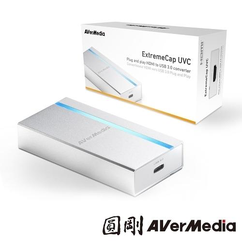 鼠年新春活動特價 圓剛 BU110 免驅動影像擷取器 ExtremeCap UVC即時手機直播/1080p未壓縮影像擷取