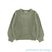 「Hot item」蓬鬆感粗針織上衣 - earth music&ecology