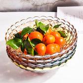 果盤茶幾果盤彩色婚慶果盤送禮帶盒水果盤  ifashion部落