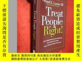 二手書博民逛書店Treat罕見People Right!: How Organi