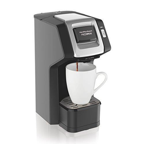 【美國代購】Hamilton Beach(49974)Single Serve Coffee Maker  咖啡機 黑色
