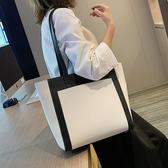 大包包女包2020新款潮韓版百搭時尚側背包ins風大容量學生托特包  魔法鞋櫃