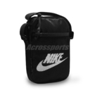 Nike 斜背包 Heritage Bag 黑 白 男女款 包包 小包 【ACS】 BA5871-010
