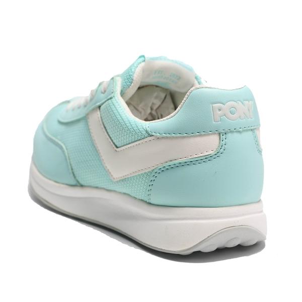PONY 休閒鞋 MONTREAL 粉藍白 網布 女 (布魯克林) 91W1MO02PB