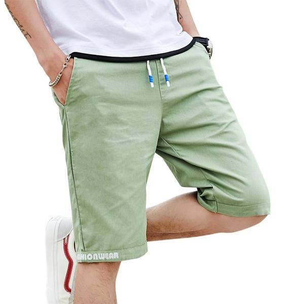 休閒短褲短褲男夏季新款男士5五分褲休閒中褲子潮流速干沙灘褲7七分馬褲薄 玩趣3C