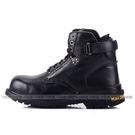 男款 MGA532 F01 凱欣 KS 真皮鋼頭高筒 安全鞋 工作鞋 戰鬥靴 黑色 59鞋廊