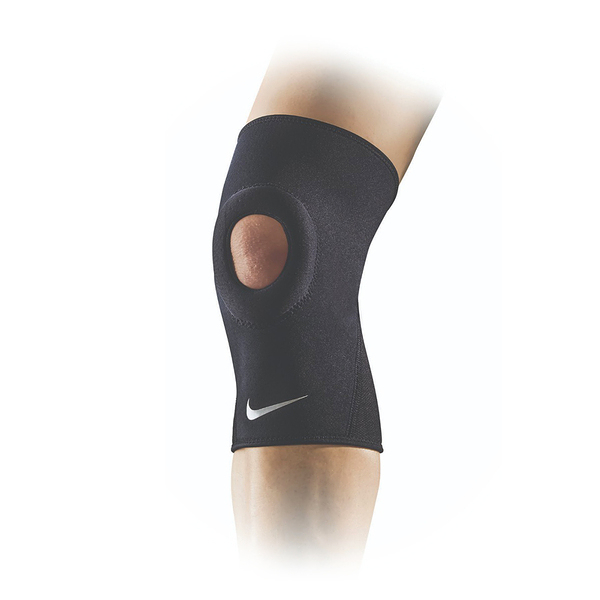 Nike Open Patella Knee Sleeve [NMS38010MD] 護膝 開洞式 運動 防護 支撐 黑