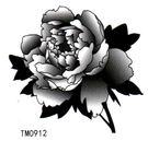 薇嘉雅   玫瑰花  超炫圖案紋身貼紙   TM0912