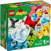 【LEGO樂高】DUPLO 心型盒#10909