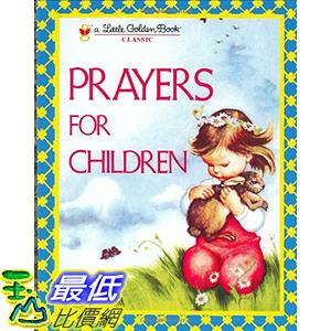 [106美國直購] 2017美國暢銷兒童書 Prayers for Children (Little Golden Book) Hardcover