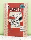 【震撼精品百貨】史奴比Peanuts Snoopy ~SNOOPY A4筆記本-紅走路#51547