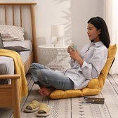 榻榻米可折疊日式單人沙發椅床上靠背椅女生可愛電腦躺椅 【米娜小鋪】