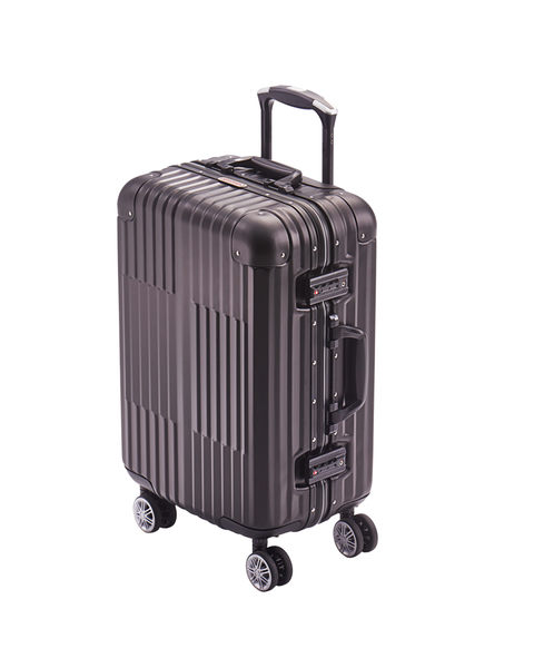 YISTUNEE 全鋁鎂合金拉桿旅行箱 20吋 酷炫黑