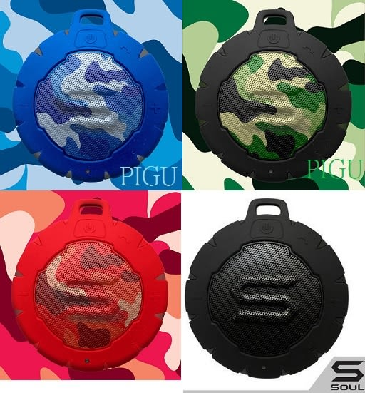 平廣 SOUL STORM 藍色 紅色 綠色 黑色 藍芽喇叭 漂浮喇叭 防水無線藍牙喇叭 台灣公司貨保1年