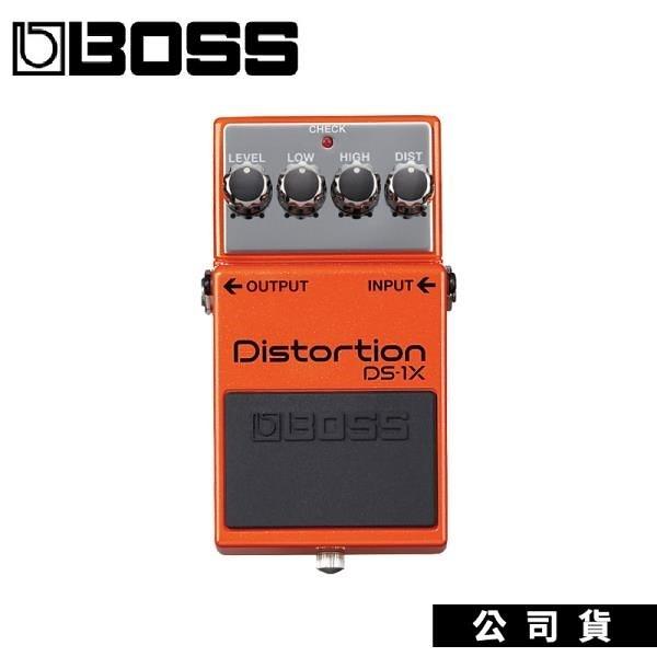 【南紡購物中心】BOSS DS-1X Distortion 電吉他破音效果器 Boss DS1升級版 失真效果器