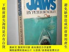 二手書博民逛書店Jaws罕見by Peter Benchley 英文原版 大白鯊