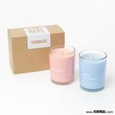 STAYREAL 簡單生活香氛蠟燭(S) - 2入