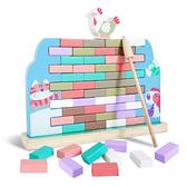 母雞拆牆木製抽抽樂 玩具 益智玩具