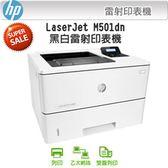 HP 惠普 LaserJet Pro M501dn 辦公用 黑白雷射高速印表機 九月促銷特價 0利率分期