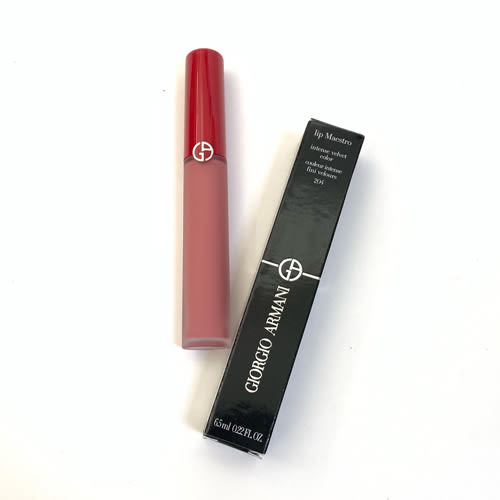 GIORGIO ARMANI亞曼尼 奢華絲絨訂製唇萃6.5ml 限量雪霧粉系列 國際限定版《小婷子》