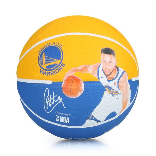 SPALDING 勇士-柯瑞 Curry 籃球 #SPA83844(附球針 7號球≡體院≡ SPA38159