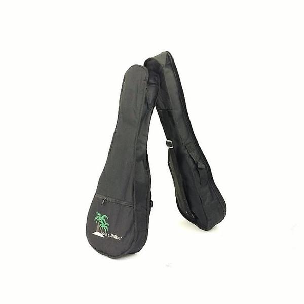 21 23 26 28寸尤克里里背包琴包小吉他袋子UKULELE琴袋椰樹圖案包 小明同學