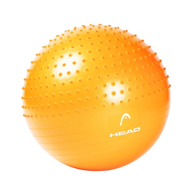 專業雙效防爆瑜珈球65cm HEAD海德 gymball加厚螺旋防滑環保材質 WELLCOME好吉康