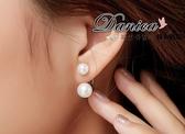 耳環 現貨 正韓宋慧喬同款氣質甜美極致珍珠 後掛 2用 925 銀針 S91148 批發價 Danica 韓系飾品