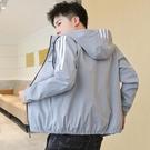 棒球外套 外套男夾克機能風2020新款春秋季潮流休閒運動工裝棒球服上衣服C 雙十一