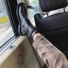 ANN馬丁靴女2020年新款冬季新款中筒機車靴百搭英倫風短靴潮ins酷一米陽光