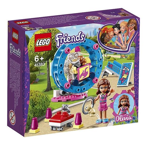 LEGO 樂高 Friends系列 Olivia s Hamster Playground 奧麗薇亞的倉鼠遊樂場 41383