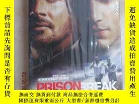 二手書博民逛書店外文罕見越獄 第二季上半部PRISON BREAK(DVD 6碟