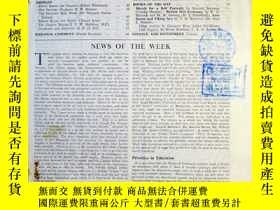二手書博民逛書店SPECTATOR罕見英國旁觀者雜誌 1949年7月8日出版 N