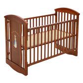 【奇哥】比得兔嬰兒中床+優雅比得兔六件寢具組