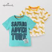 Hallmark Babies 男童竹系列純棉野生動物上衣(兩件裝) HG1-R05-01-KB-PT