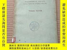 二手書博民逛書店AMERICAN罕見MATHEMATICAL SOCIETY COLLOQUIUM PUBLICATIONS(P6