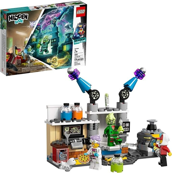 LEGO 樂高 Hidden Side J.B.的Ghost Lab 70418(174件)
