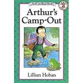 〈汪培珽英文書單〉〈An I Can Read系列:Level 2 〉Arthur's Camp-Out /讀本
