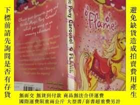 二手書博民逛書店magic罕見pony carousel flame 魔力小馬旋轉木馬火焰..Y200392