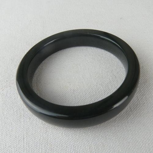 天然和田青玉手鐲#1078   54.5mm