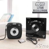 Norns 【SQ10數位拍立得相機 黑色公司貨】 日本富士INSTAX SQUARE 方形底片 相印機 印相機 相片列印機