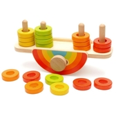 兒童平衡木制積木益智力教具寶寶1-2周歲3早教游戲6男孩實驗玩具