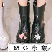 雨鞋 雨鞋女成人中筒水鞋水靴可愛雨靴防滑膠鞋