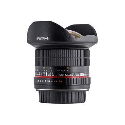 ◎相機專家◎ SAMYANG 12mm F2.8 ED AS NCS AE for Nikon 手動鏡 正成公司貨 保固一年