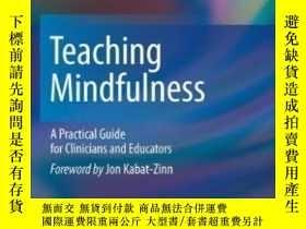 二手書博民逛書店Teaching罕見Mindfulness-教導正念Y436638 Donald Mccown Springe