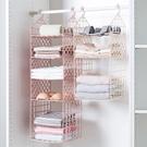 寢室衣柜分層收納架多層衣物整理架臥室宿舍...