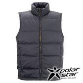 PolarStar 男 羽絨背心 │CNS 90/10羽絨 『黑』 P15251