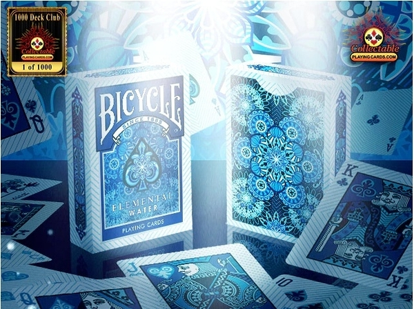 【USPCC 撲克】BICYCLE ELEMENTAL WATER DECK 水元素