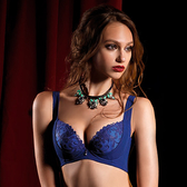 LADY 燦亮星影系列 機能調整型 G罩 內衣 ( 光影藍 )