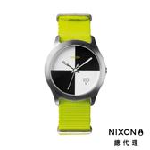 NIXON QUAD 帆布錶帶 螢光黃 潮人裝備 潮人態度 禮物首選